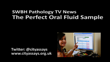 SWBH Path TV News Pervect Oral Fluid Sample
